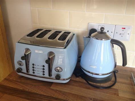 delonghi toaster and kettle delonghi icona vintage kettle and toaster in ipswich
