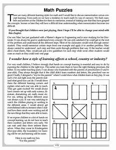 Middle School Math Worksheets Printable. Lesupercoin ...