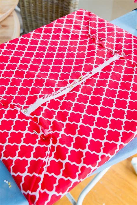 how to make a cushion how to decorate with fabric without sewing a stitch in