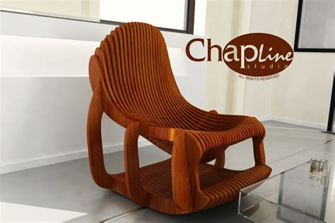 Exclusive Design. Parametric Chair.vector Outline.project