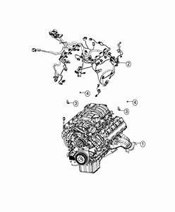 2017 Dodge Challenger Wiring  Engine  Powertrain  Mopar