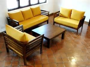How To Make A Sofa Set by Best 20 Wooden Sofa Set Designs Ideas On Pinterest