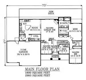 Farmhouse 4 Beds 35 Baths 2960 Sqft Plan #53303