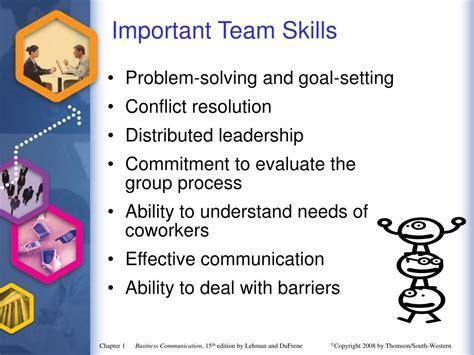 ppt establishing a framework for business communication