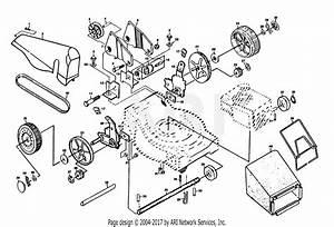 Poulan Pp845p Mower Parts Diagram For Drive Shaft  Catcher