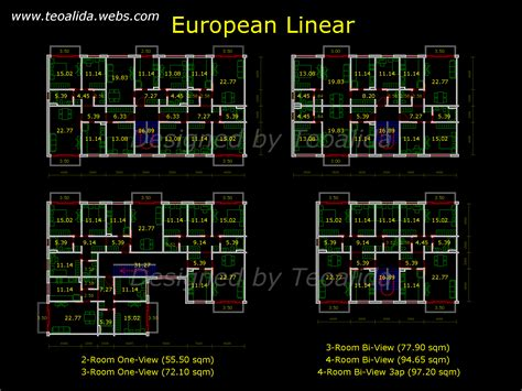 apartment plans   sqm architecture design services