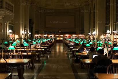 Library York Reading Interior Desks Iconic