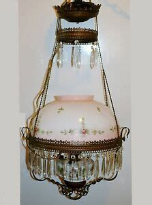 Pull Chain Chandelier by Antique Bradley Hubbard Iron Pull Chain Hanging