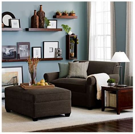 Light Blue Living Room With Furniture by 8 Stylish Small Scale Sofas Dining Room Brown