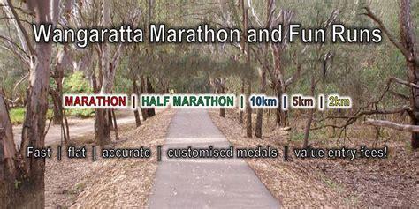 wangaratta marathon fun runs victoria