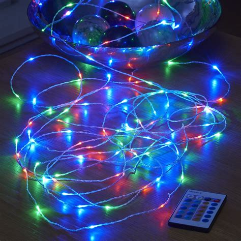 micro string lights micro led string lights mains powered remote