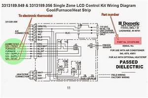Wiring Diagram For Duo Therm Analog 10 Wire Thermostat 3101625