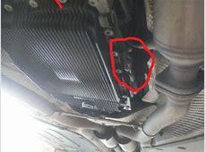 2004 745Li Changed transmission pan, when put the car