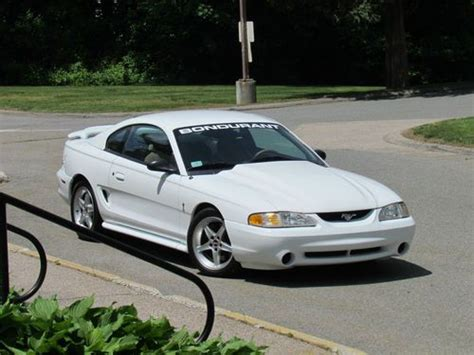 Purchase Used 1995 Ford Mustang Svt Cobra R Coupe 2-door 5