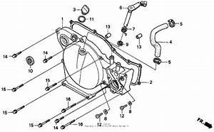 Right Crankcase Cover For 1998 Honda Cr80