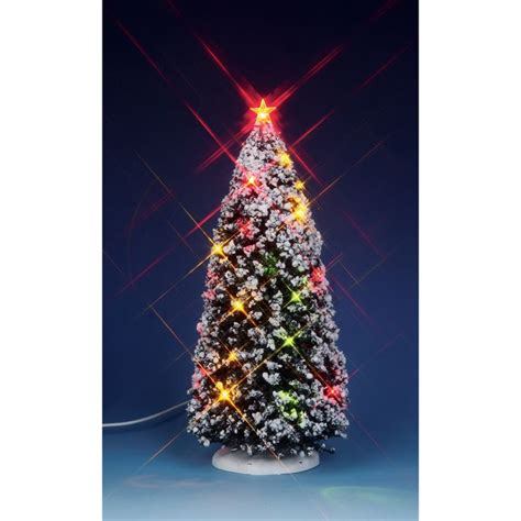 lemax village collection lighted christmas tree large