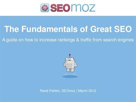 Seo Fundamentals Guide by Fundamentals Of Great Seo