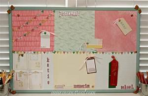 Dress Up a Cork Bulletin Board w/ Dear Lizzy 5th & Frolic