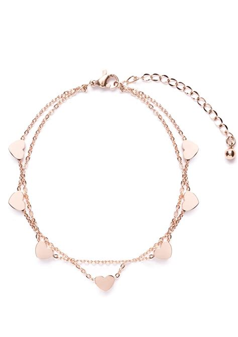 love delicate bracelet rose gold happiness boutique