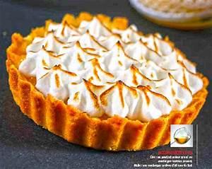 Recette Tarte Citron Meringuée Facile : dessert recette tarte citron meringu e lemon curd ~ Nature-et-papiers.com Idées de Décoration