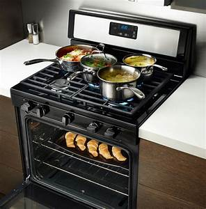 Whirlpool Wfg505m0bs 30 Inch Freestanding Gas Range With 5