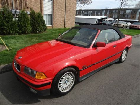 Find Used 1995 Bmw 325i Base Convertible 2door 25l In