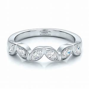 custom marquise diamond wedding band 100779 With marquise engagement rings with wedding band