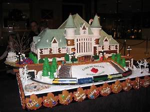 Marguerite-aville: Gingerbread Train Stations, and other ...