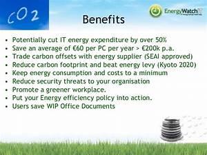 European Green IT Webinar 2014 - Energy WatchIT (Ireland)