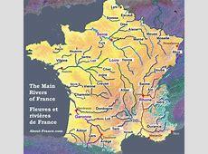 carte des fleuves français Arts et Voyages