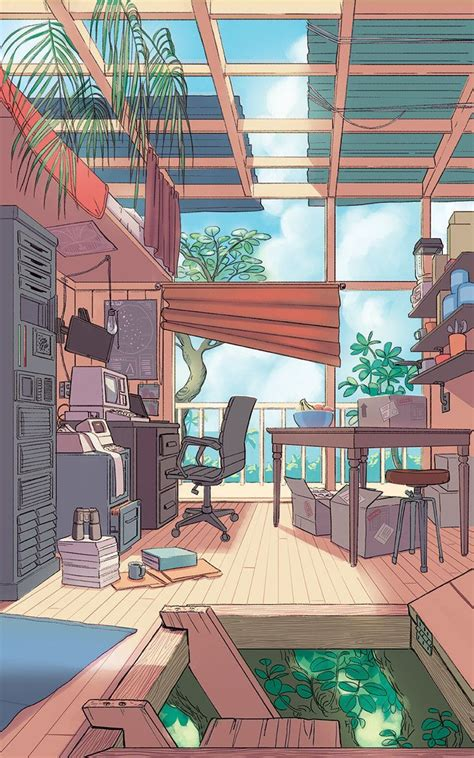 aesthetic anime rooms wallpapers