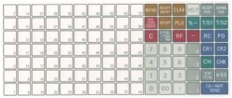 Register Keyboard Template by Te2400 Keyboard Template 2 50 Casio Register