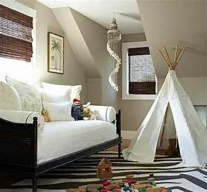 Deco Chambre Ami : salle de jeux et chambre d 39 amis deux en un ~ Melissatoandfro.com Idées de Décoration