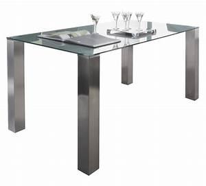 Esstisch Glas Grau : esstisch rechteckig edelstahlfarben grau online kaufen xxxlshop ~ Markanthonyermac.com Haus und Dekorationen