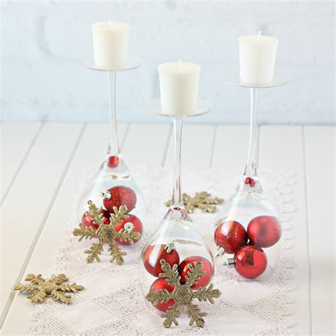 Candle Decorating With Glasses by Simple Decorating