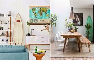 Planche Surf Deco : pour un air de vacances dans votre deco mademoiselle claudine le blog ~ Teatrodelosmanantiales.com Idées de Décoration