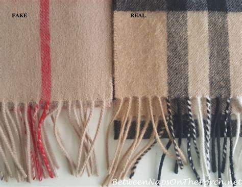 burberry scarf fake  real     difference