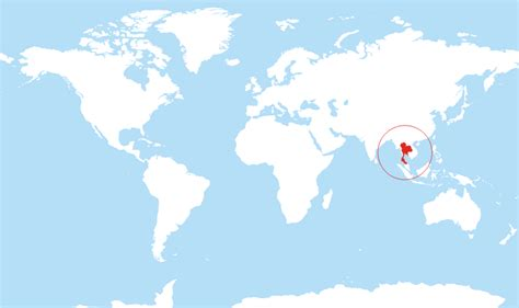 Nursery Vancouver by Where Is Thailand Located On The World Map