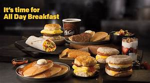 FREE McDonald's All Day Breakfast Pajama Party in ...