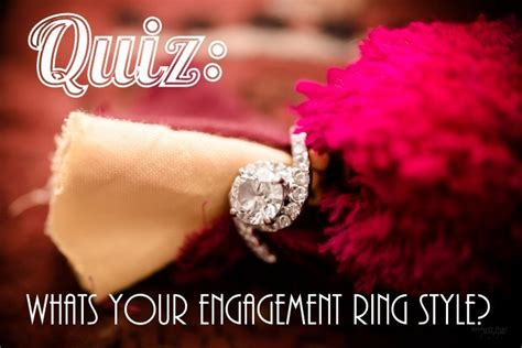 quiz whats your engagement ring style wedmegood