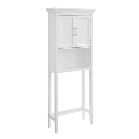 home depot the toilet cabinet simpli home avington 27 in w x 67 in x 10 in d the