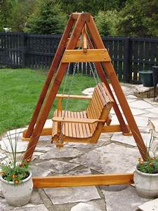 Porch Swing A Frame Plans
