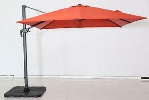 Jardiland Parasol Déporté : parasol new roma rouge jardiland ~ Premium-room.com Idées de Décoration