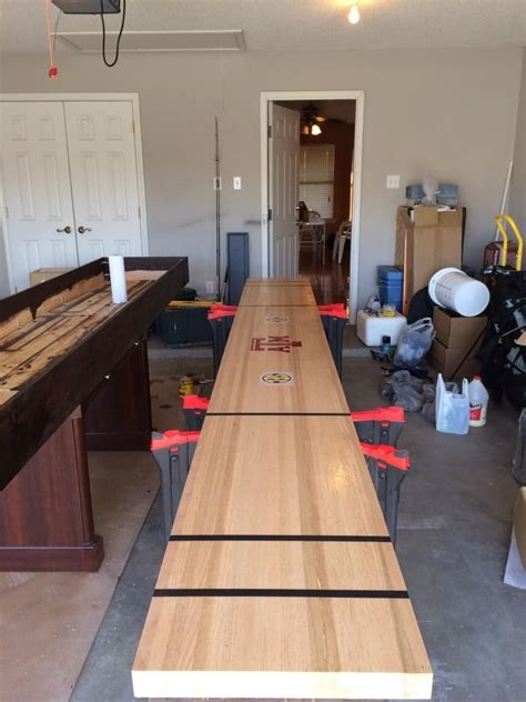 build  shuffleboard table plans woodworking