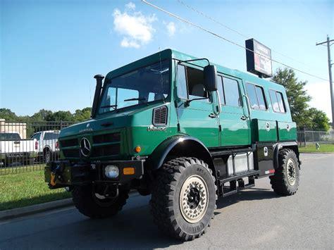 mercedes unimog kaufen mercedes unimog u1550 crew cab 4x4 manufacture date yr 1991 price 255 282 coach