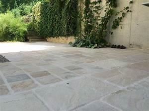 Dalle Pierre Terrasse : pave pour allee de jardin 9 dallage terrasse pose dalle ext233rieure clermont evtod ~ Preciouscoupons.com Idées de Décoration