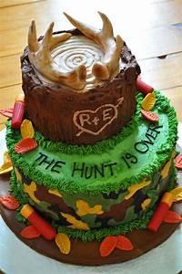 Hunting, Groom, U0026, 39, S, Cake