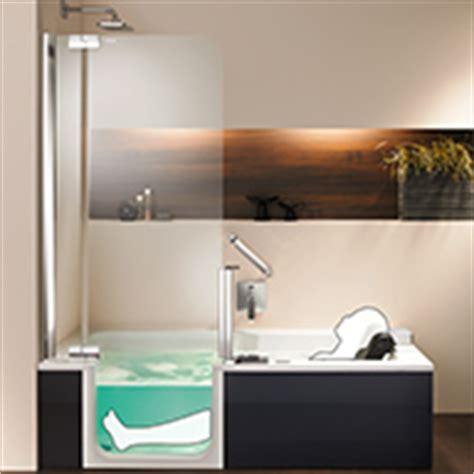 duschbadewanne mit tür barrierefreie badewanne mit t 252 r und hebesitz nullbarriere