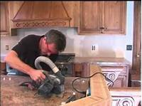 how to install a countertop How to Install Granite Slab Countertops - YouTube