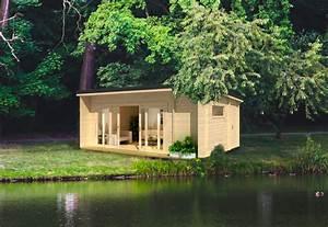 Gartenhaus Holz Pultdach : gartenhaus und ger tehaus flachdach pultdach la vita kaufen ~ Articles-book.com Haus und Dekorationen
